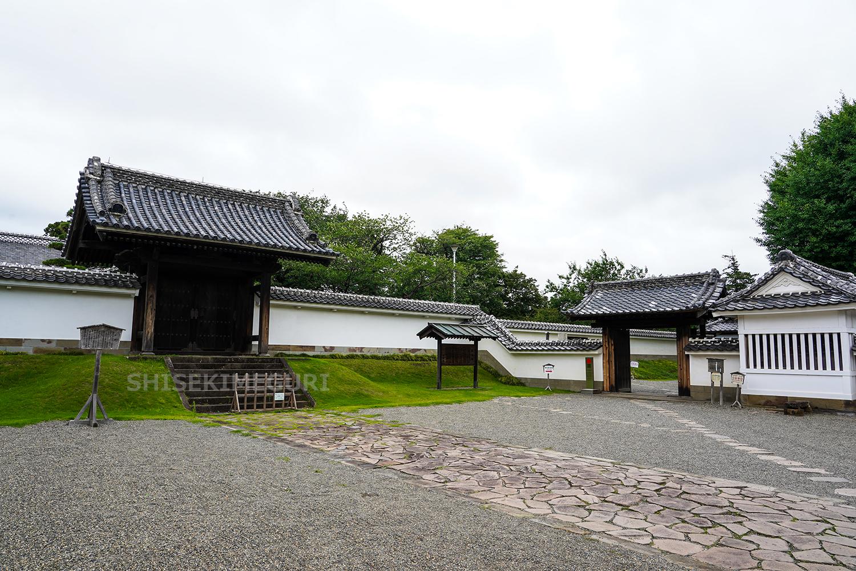 水戸城弘道館正門