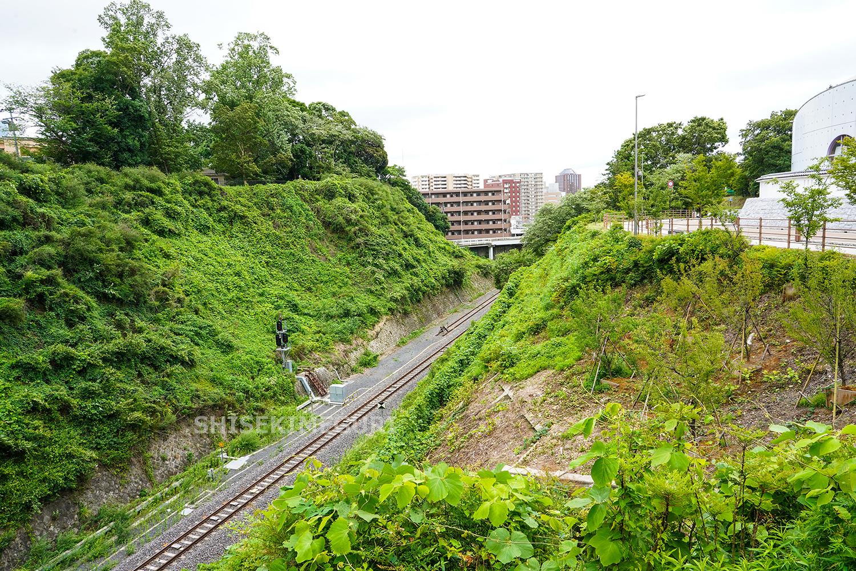 水戸城本丸と二の丸間の堀