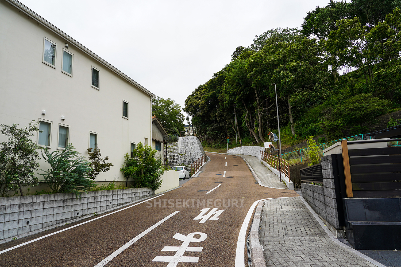 水戸城 杉山坂